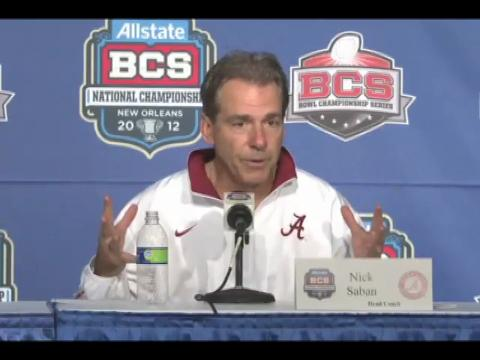 Alabama National Championship is a JOKE, So is the BCS System