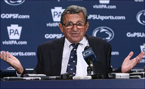 Joe Paterno: The Sandusky Tragedy, Lung Cancer, Chemotherapy and His Career