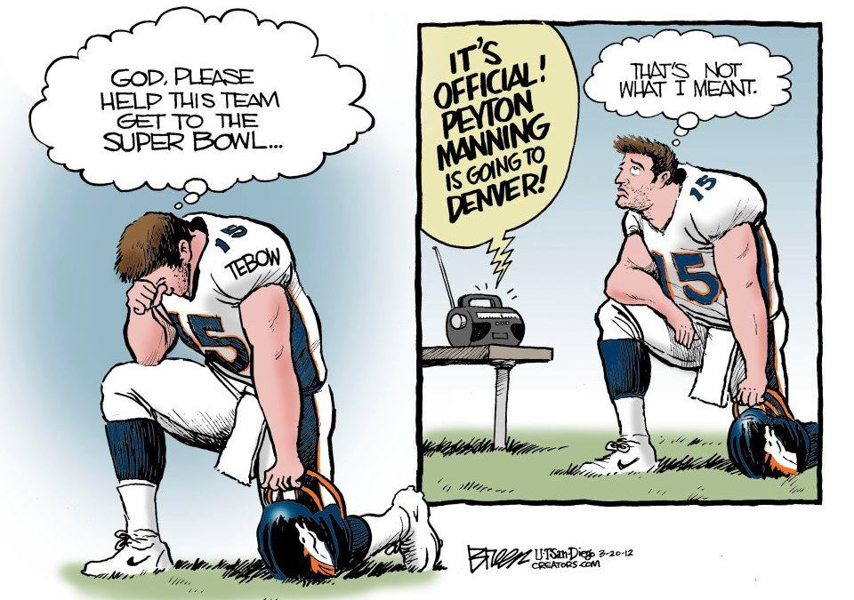Peyton Manning is the Best NFL Quarterback, Tim Tebow was the Better College Player